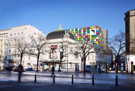 Neuer Bühnenturm Schauspielhaus HH